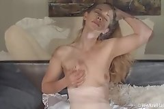 Home alone leads hairy babe Fani to pleasure